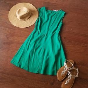 New York & Company Green Dress